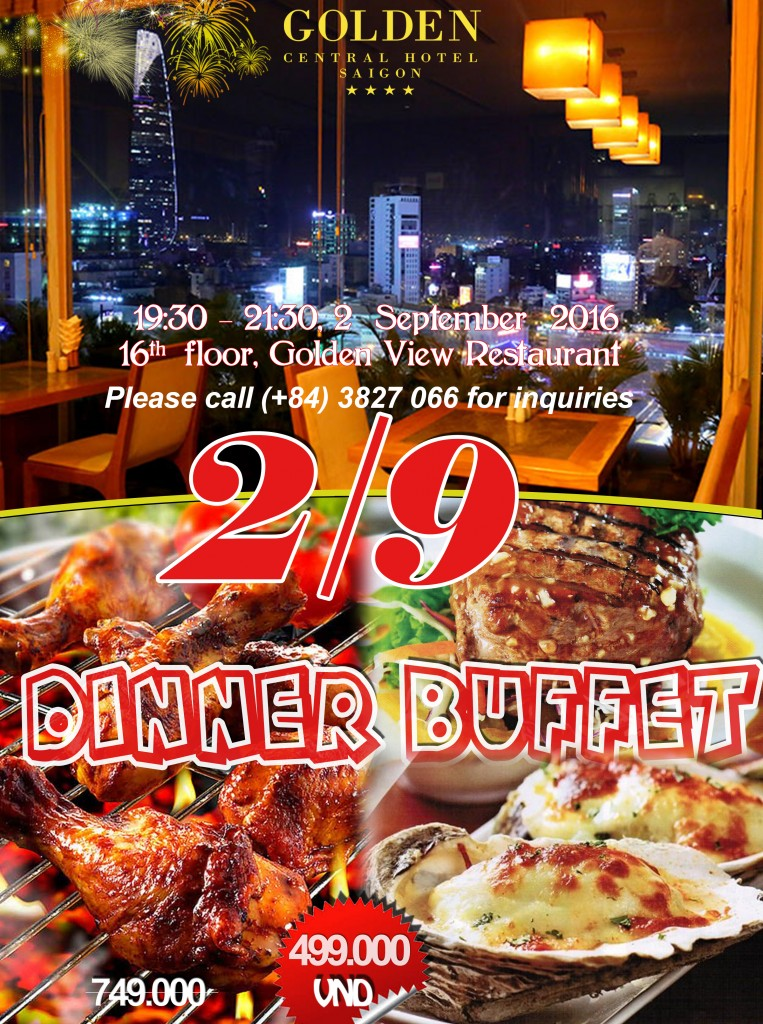 buffet 209 thang may